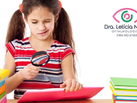 Problemas de visão podem atrapalhar o desempenho escolar