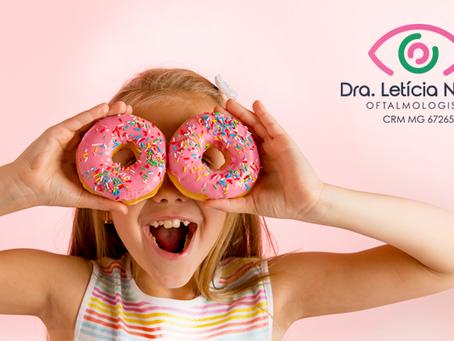 Seu filho tem diabetes? Cuide dos olhos