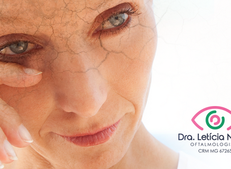 Tratamento inovador para olho seco