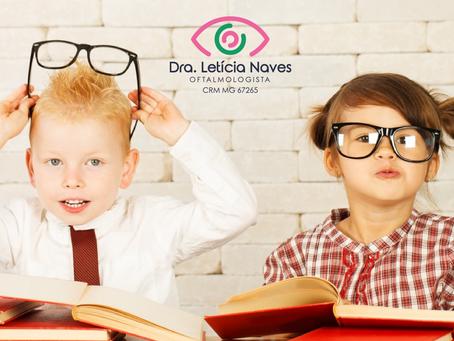 Como cuidar da visão do seu filho de forma divertida?
