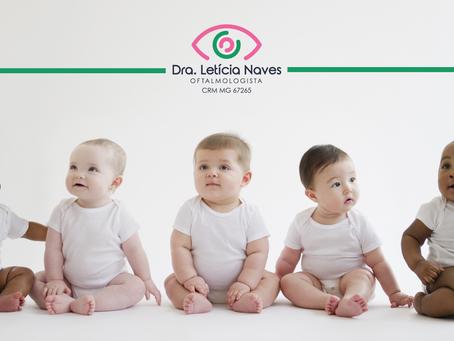 Como saber se o seu bebê enxerga bem?