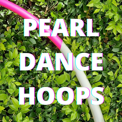 Adult Pearl Light Dance Hoops