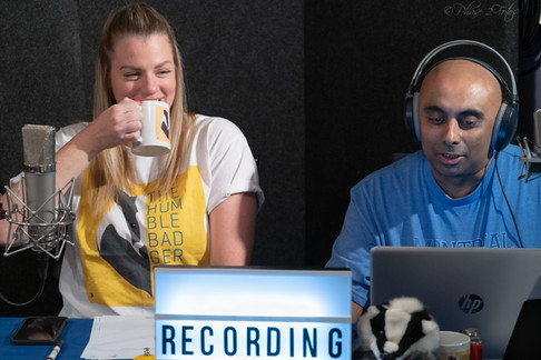 Hosting The Humble Badger Podcast
