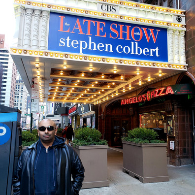 Visiting The Late Show with Stephen Colbert