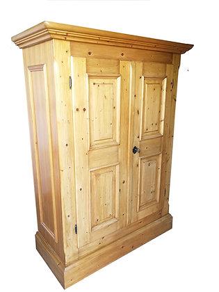 Gold antik, Bauernschrank, 2 Türen
