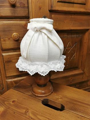 Anno 1600, Lampe, weiß Rüschen