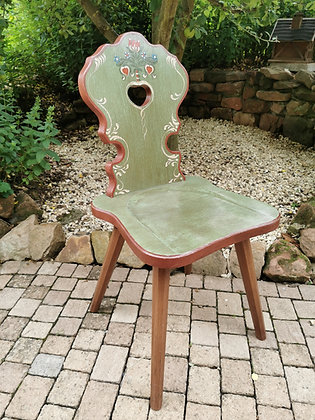 Anno 1800, altgrün, Stuhl, ohne Lehne Preis