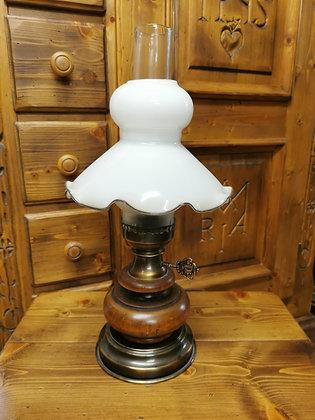 Nachttischlampe, Glasschirm
