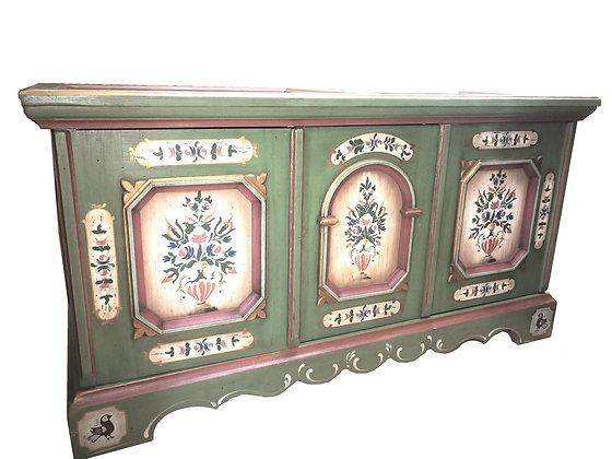 Anno 1700, altgrün, Kommode, groß
