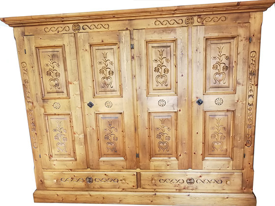 Anno 1600, Bauernschrank, 4 Türen