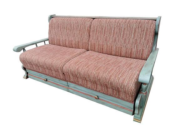 Anno 1700, altblau, Sofa, ausziehbar