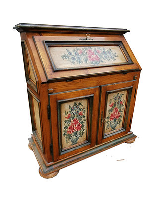 Antiker Schreibtisch mit Aufsatz