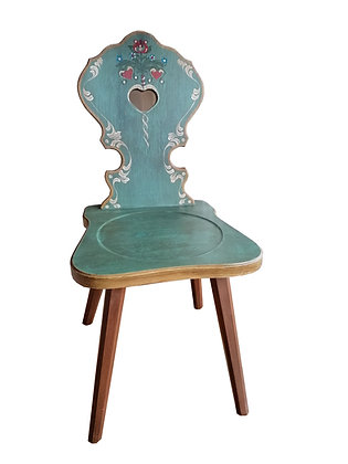 Anno 1800, altblau, Stuhl, ohne Lehne