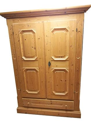 Bauernschrank, Serie 1800, Gold, 2 Türen