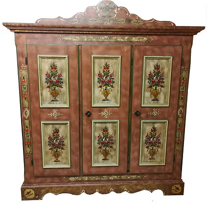 Anno 1800, altrosa, Bauernschrank, 3 Türen