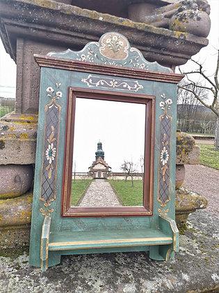 Anno 1800, altblau, Spiegel, Höhe 92 cm