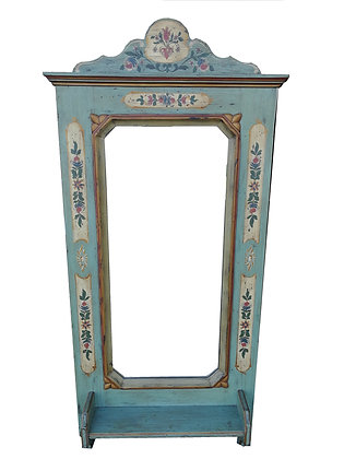 Voglauer Anno 1700 Spiegel altblau blau Holz
