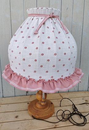 Anno 1600, Tischlampe, weiß-rosa
