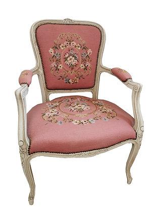 Sessel Barockstil pink