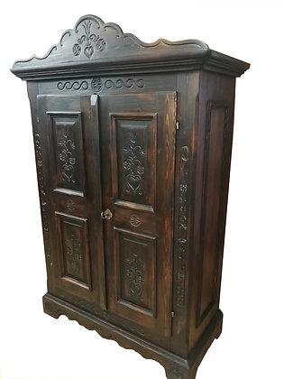 Anno 1600, dunkel, Schrank, 2 Türen