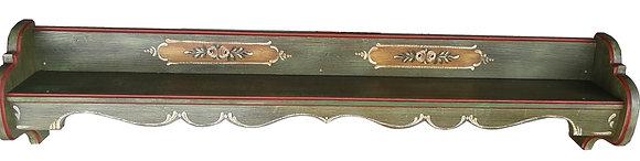 Anno 1800, altgrün, Wandregal, Länge 148 cm