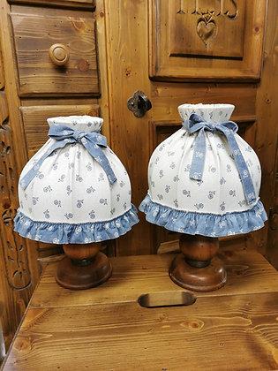 Anno 1600, Tischlampen-Set, weiß-blau