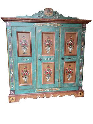 Anno 1800, altblau, Schrank, 3 Türen