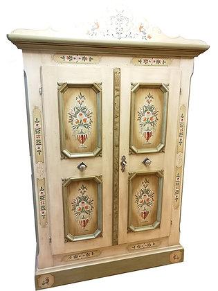 Anno 1700, altweiß, Schrank, 2 Türen