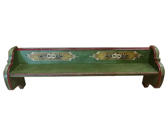 Anno 1800, altgrün, Wandregal, 96 cm