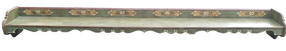Anno 1800, altgrün, Wandregal, XXL, 3 Meter lang