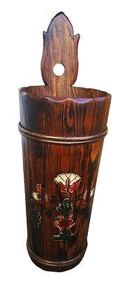 Anno 1700, braun antik, Schirmständer