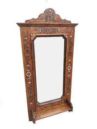 Anno 1700, braun antik, Spiegel, groß