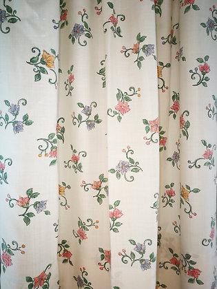 Vorhang, 120 cm hoch x 140 cm breit, kurz
