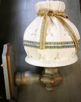 Anno 1700, altblau, Wandlampe
