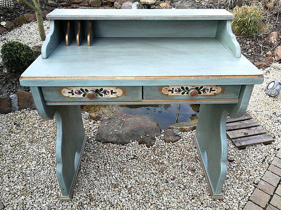 Anno 1700, altblau, Schreibtisch