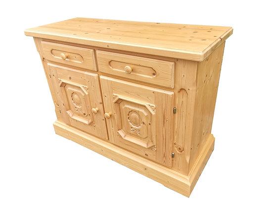 Anno 1800, Gold Antik, 2 Türen, 2 Schubladen