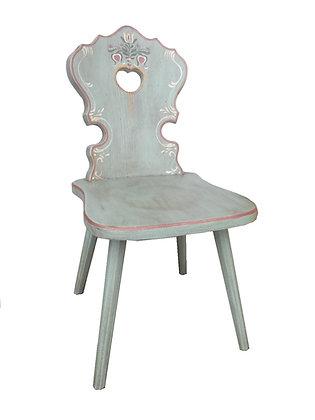 Anno 1700, altblau, Stuhl, ohne Lehne