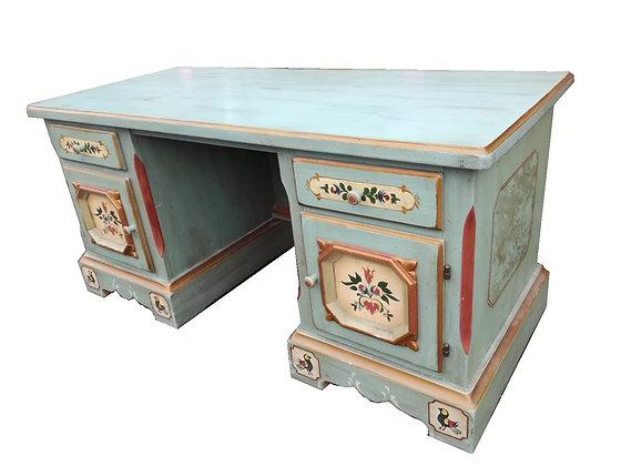 Anno 1700, altblau, Schreibtisch, groß