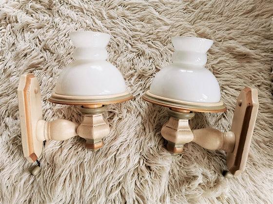 Anno 1700. altweiß, Wandlampen-Set