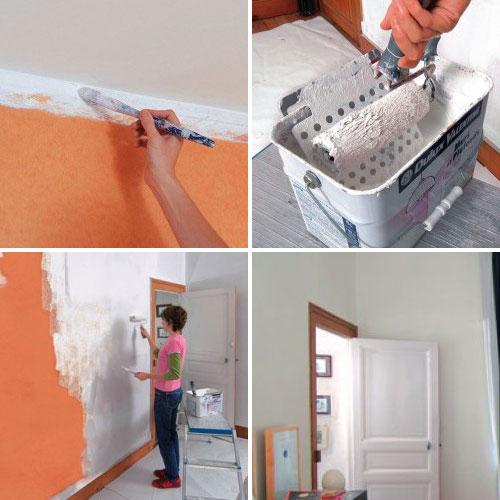 papier peint peinture