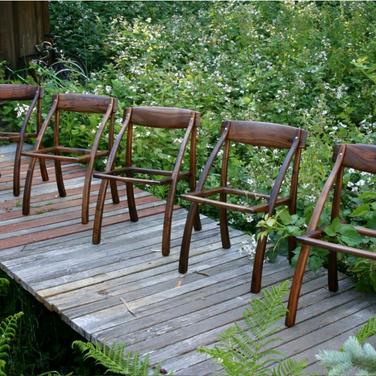 Espenet wishbone chairs