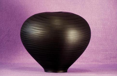 redwood ebonized hollow form