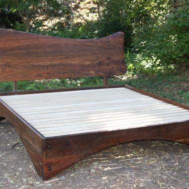 claro walnut king bed