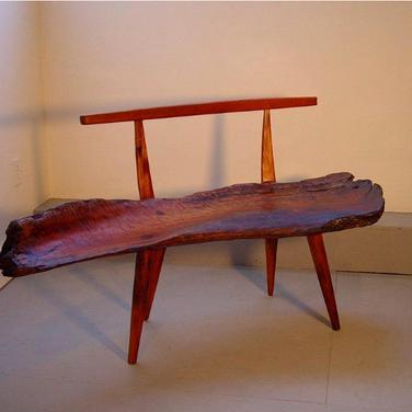 matole redwood bench