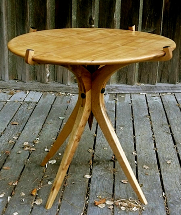 """ecalyptus side table 24"""" by 22""""high"""