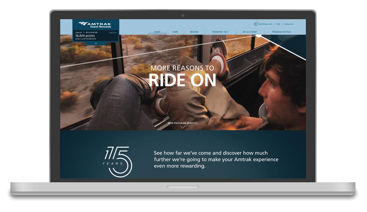 Amtrak Ride On 7