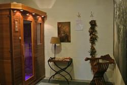 sauna ruimte