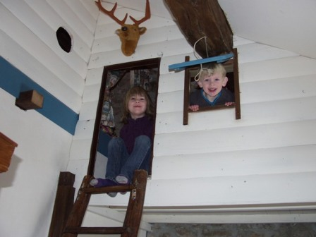 boomhutkamer binnen