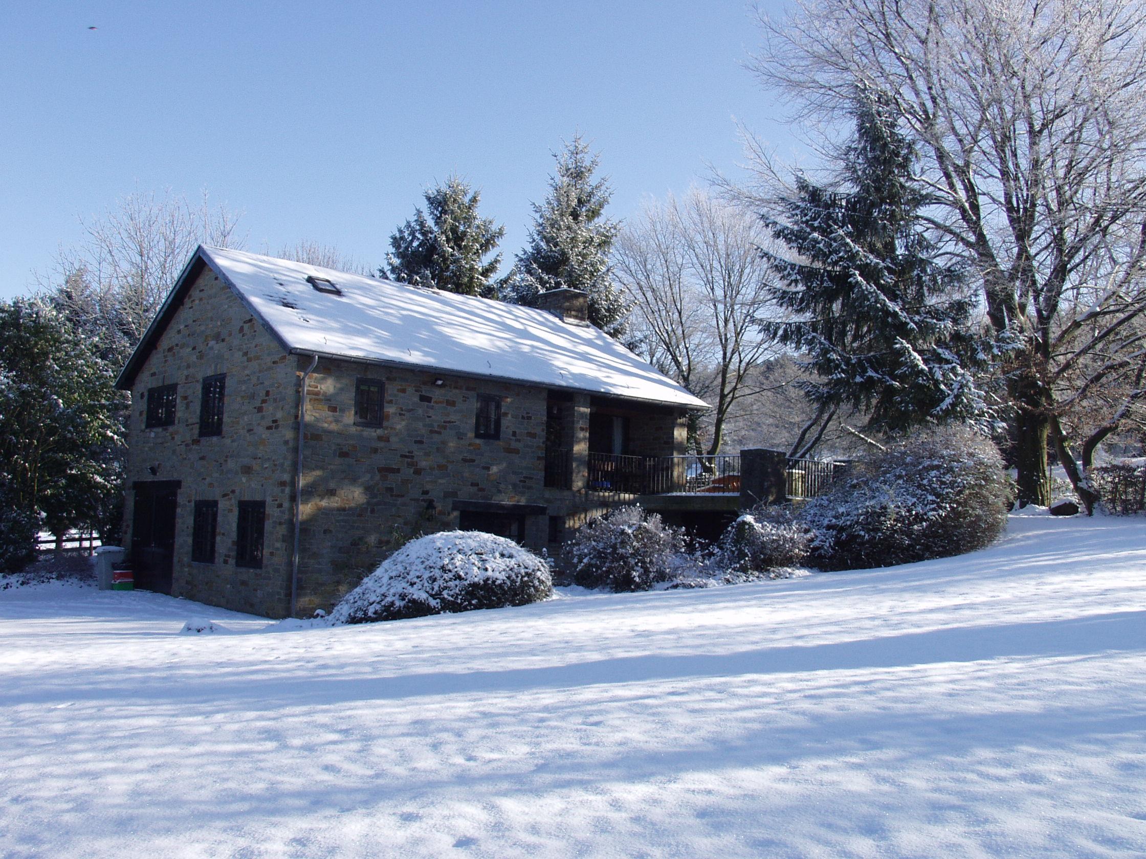 ook met sneeuw heerlijk genieten