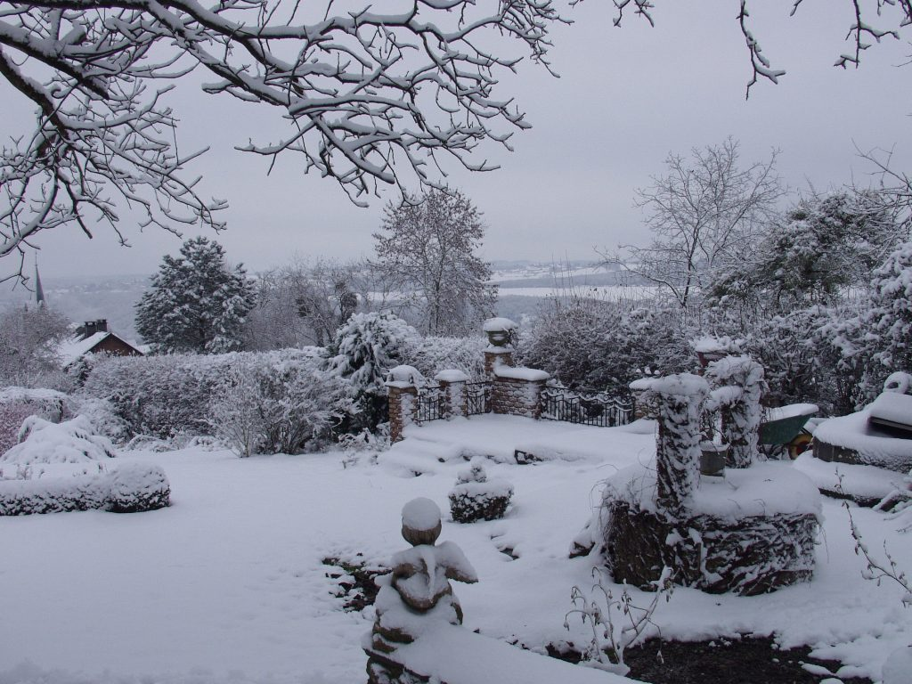 sneeuw waterrecervoir